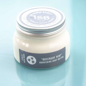 In Season Beauty - Wholesale CBD - Rosemary Mint Body Butter