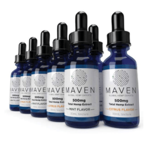 Maven CBD - 500MG CBD Tincture All Flavor - Full Spectrum