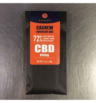 Nu CBD - Chocolate Bar Cashew - 60MG