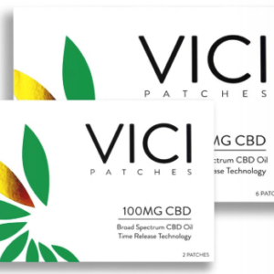 CBD NJ Shop - Vici Wellness 100MG CBD Patch