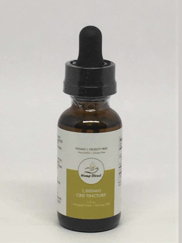 Hemp Direct - 1000MG CBD Tincture Available for Wholesale