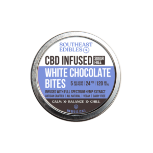SouthEast Edibles - Sugar-Free - White Chocolate Bites - 5mg Per - 120mg Total