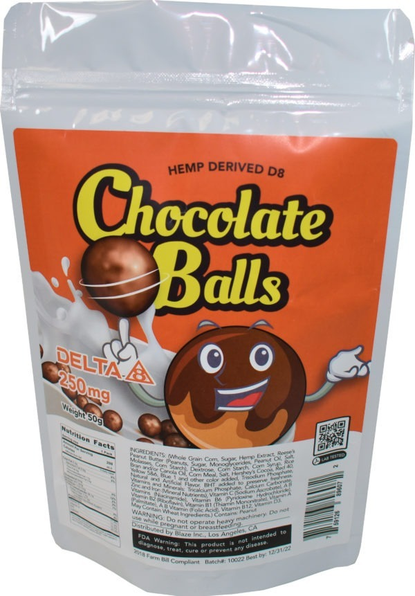 Wholesale Delta-8 Cereal - Chocolate Balls - 250MG